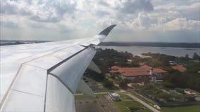 Qatar Airways samolotu lądowanie zdjęcie wideo
