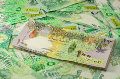Qatar currency Royalty Free Stock Image
