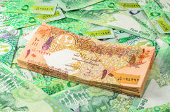 Qatar currency Royalty Free Stock Photo