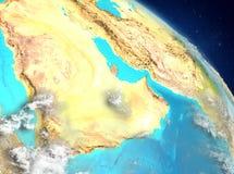 Qatar de la órbita ilustración del vector