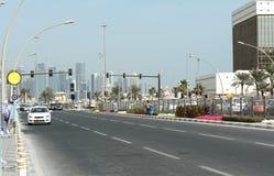 Qatar, doha, city, modern, arabic, architecture. Qatar, doha, city modern arabic architecture skyline arabia qatar, doha, bazaar, market, souk, arab, shop Royalty Free Stock Images