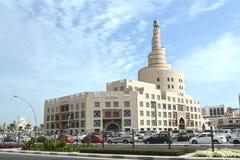 Qatar, doha, city, modern, arabic, architecture. Qatar, doha, city modern arabic architecture skyline arabia qatar, doha, bazaar, market, souk, arab, shop Royalty Free Stock Photography