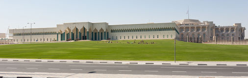Qatar Emiri Diwan palace. Stock Images