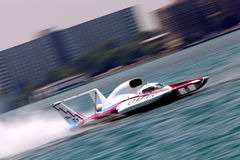 Qatar Hydroplane Stock Photo