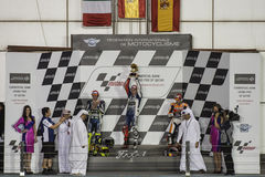 Qatar MotoGP 2013 Royalty Free Stock Photography