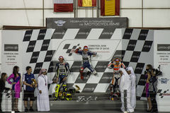 Qatar MotoGP 2013 Stock Photos