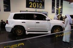 Qatar Motorshow 2011 - Eindringling stockfoto