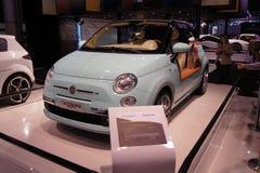 Qatar Motorshow 2011 - Fiat Castagna Milão Fotos de Stock
