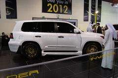 Qatar Motorshow 2011 - Invader Stock Photo