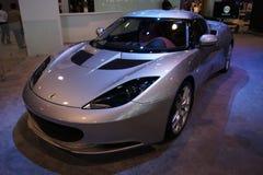 Qatar Motorshow 2011 - lótus Fotos de Stock Royalty Free