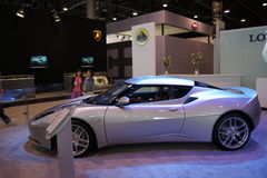 Qatar Motorshow 2011 - Lotus Stock Photos