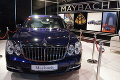 Qatar Motorshow 2011 - Maybach Royalty Free Stock Photo