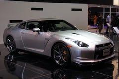 Qatar Motorshow 2011 - Nissan Imagens de Stock Royalty Free