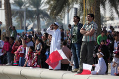 Qatar National Day, Doha Stock Photos