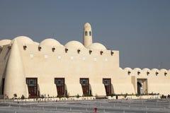 Qatar State Grand Mosque, Doha Stock Photos