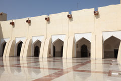 Qatar State Grand Mosque, Doha Stock Photo