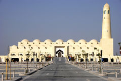Qatar State Mosque Stock Image