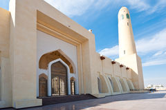 Qatar state mosque Stock Image