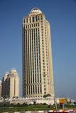 Qatar Telecom Headquarters in Doha Royalty Free Stock Photo