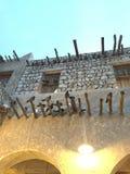 Qatari-Architektur Stockfotos