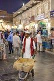 Qatari man at the Souq Waqif, Doha Stock Image