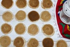 Ramadan Sweets - Qatayef. Qatayef - Traditional middle eastern sweets , usually eaten in Muslims holy month : Ramadan stock photography
