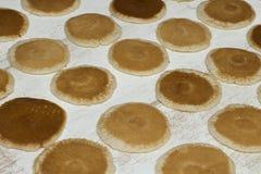 Ramadan Sweets - Qatayef. Qatayef - Traditional middle eastern sweets , usually eaten in Muslims holy month : Ramadan royalty free stock photo