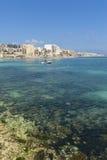 Qawra, Мальта Стоковые Изображения