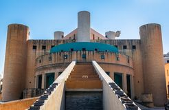 Qawra-Kirchen-Front Stockfotografie