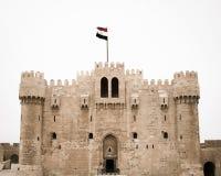 Qayetbay Castle στοκ φωτογραφία με δικαίωμα ελεύθερης χρήσης