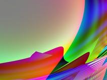 Qbist abstract background Stock Photo