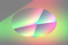 Qbist abstract background Royalty Free Stock Photos