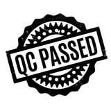 Qc Passed rubber stamp Stock Photography
