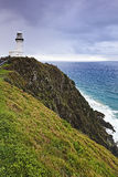QE Byron Bay Lighthouse vert cliff Royalty Free Stock Photos