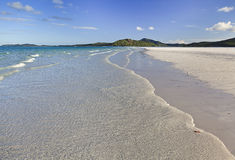 QE FI Whitehaven beach Royalty Free Stock Photos