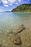 QE FI Whitsunday Coral Bay Vert Stock Photography
