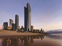 QE Surfers Paradise Q1 South Rise royalty free stock photography