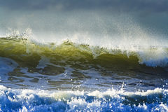 QE Wave Spray Close Royalty Free Stock Photos