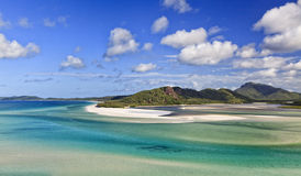 QE Whitsundays Bay Hill Royalty Free Stock Photography