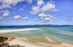 QE Whitsundays Beach Sky Royalty Free Stock Image