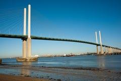 QEII Brücke Lizenzfreie Stockfotografie
