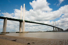QEII Bridge Royalty Free Stock Photo