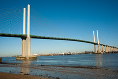 QEII Bridge Royalty Free Stock Photography