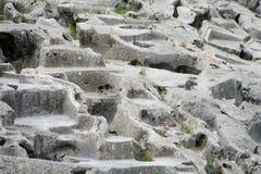 Qenco inca ancient city in Cuzco, Peru royalty free stock image