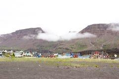 Qeqertarsuaq Grönland royaltyfria bilder