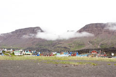 Qeqertarsuaq, Groenlandia immagini stock libere da diritti