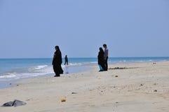 ON QESHM BEACH Stock Photo