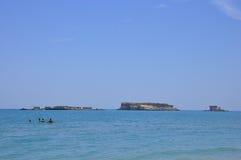 QESHM ISLAND BEACH IRAN Stock Photos