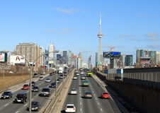 Toronto Highway Royalty Free Stock Images