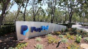 QG la Californie de Paypal banque de vidéos